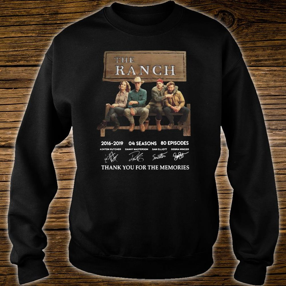The Ranch thank you for the memories signature shirt sweater