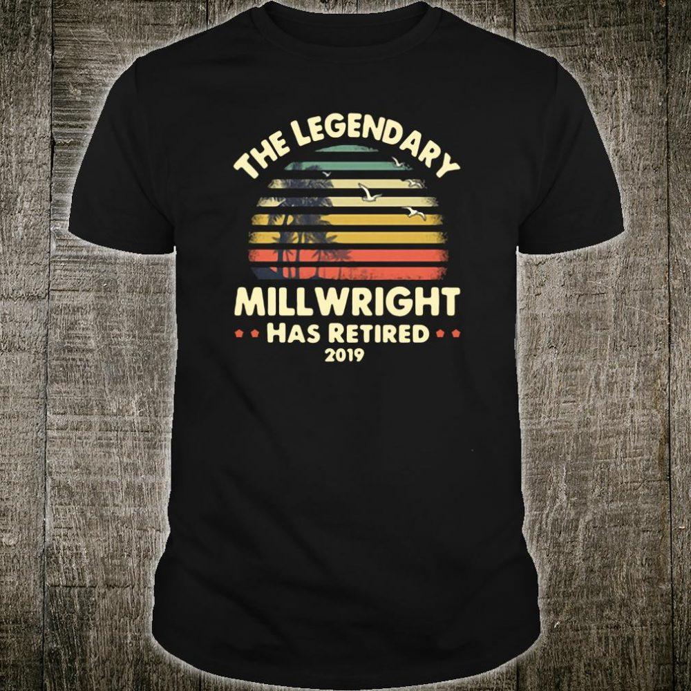 The legendary will wright has retired shirt