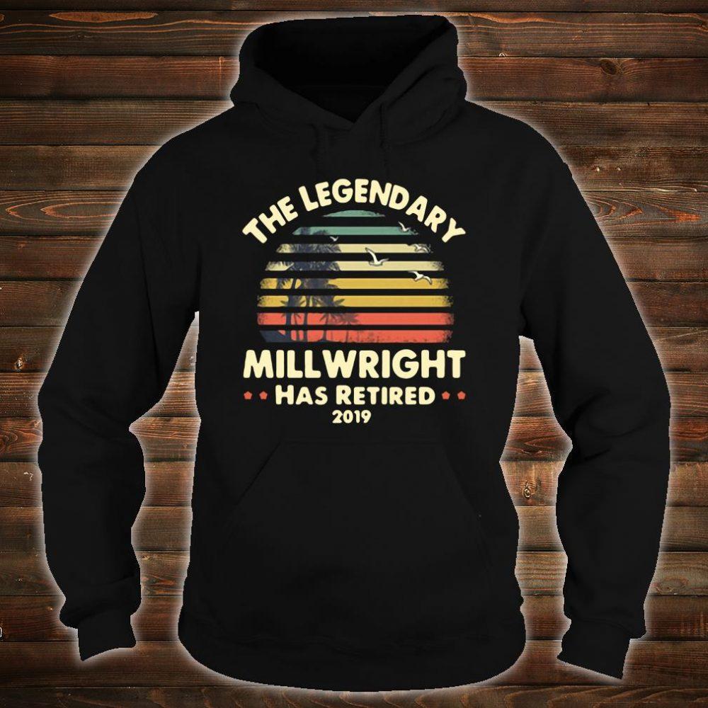 The legendary will wright has retired shirt hoodie