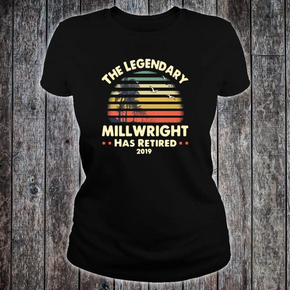 The legendary will wright has retired shirt ladies tee