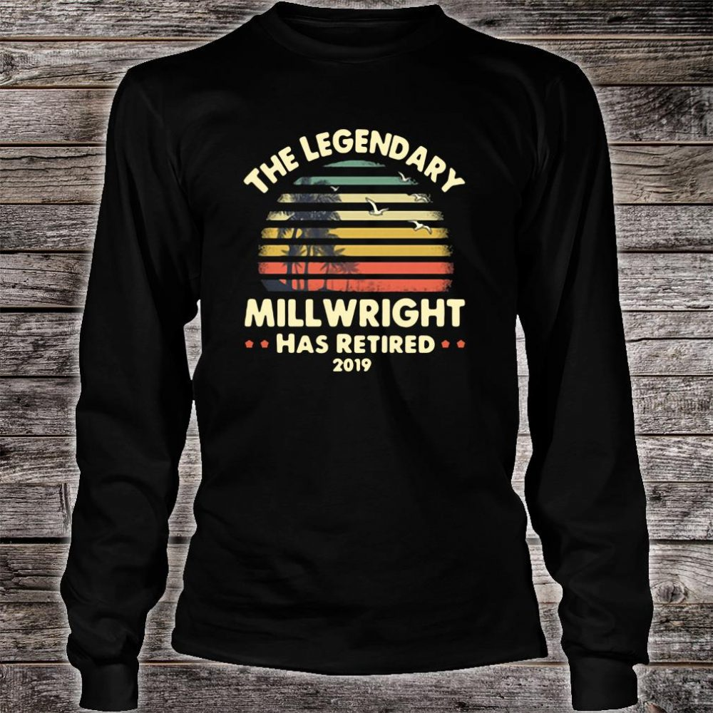 The legendary will wright has retired shirt long sleeved