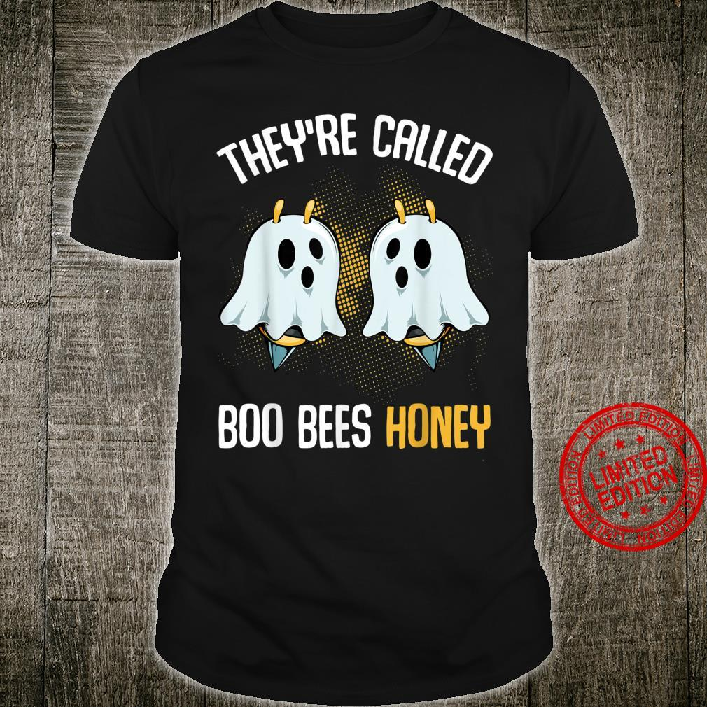 They're Called Boo Bees Honey October Halloween Beekeeping Shirt