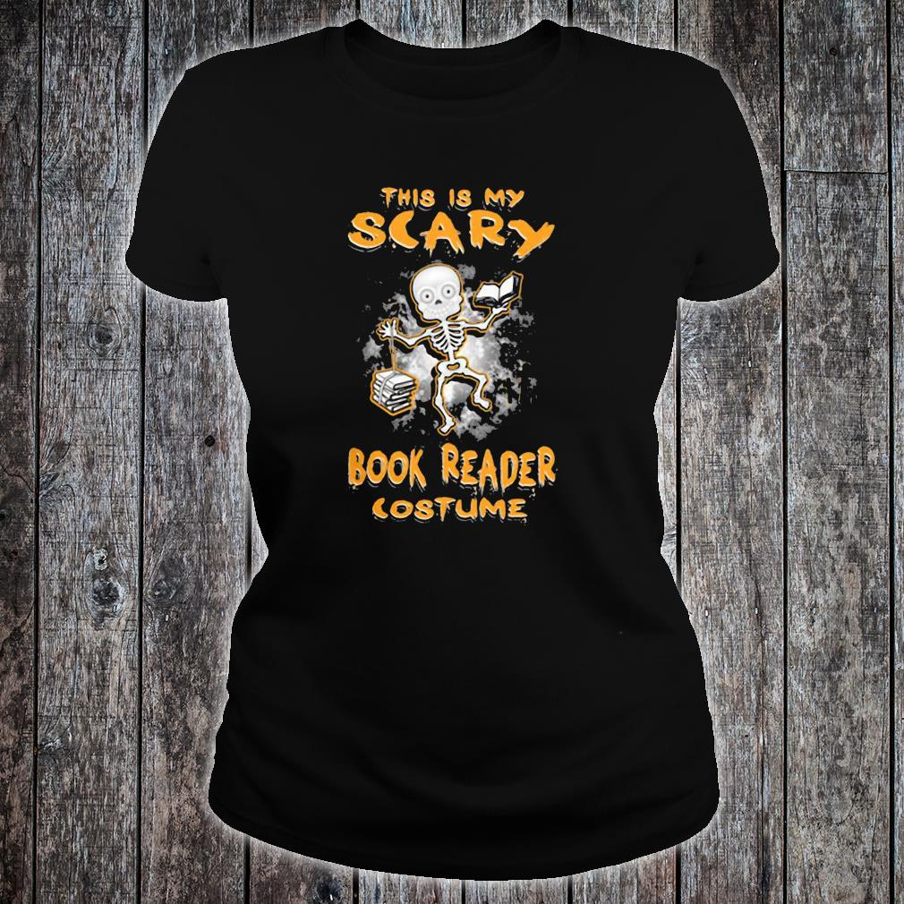 This is my scary book reader costume shirt ladies tee