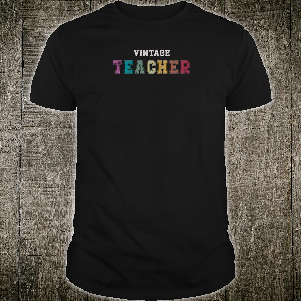 Vintage teacher shirt