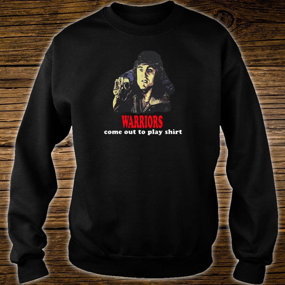 Warriors come out to play shirt sweater