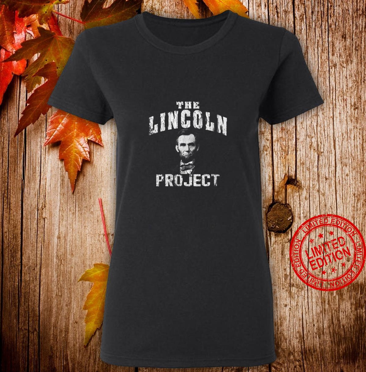 Womens The Lincoln Project . Save The USA Shirt ladies tee