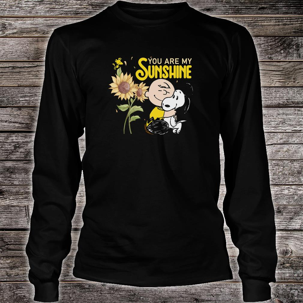 You are sunshine shirt long sleeved